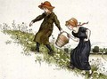 Jack and Jill from April Babys Book of Tunes - Kate Greenaway