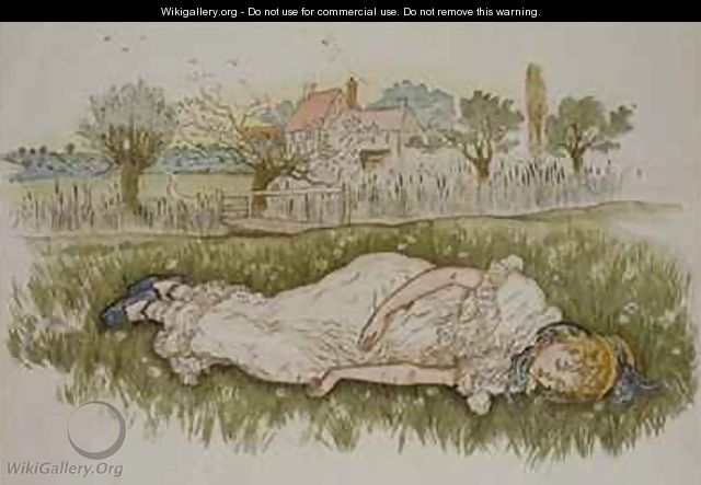 Resting from A day in a Childs Life - Kate Greenaway