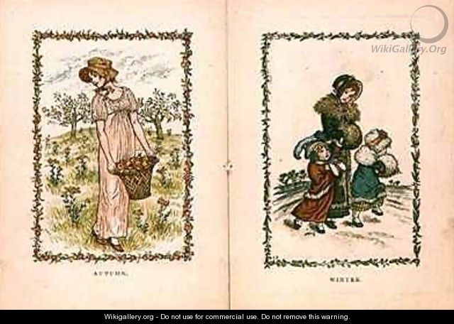 Autumn and Winter - Kate Greenaway