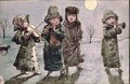 Christmas Caroling - Kate Greenaway