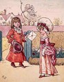 Illustration for St Valentines Day 3 - Kate Greenaway