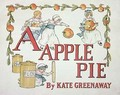 Illustration for the letter A from Apple Pie Alphabet - Kate Greenaway