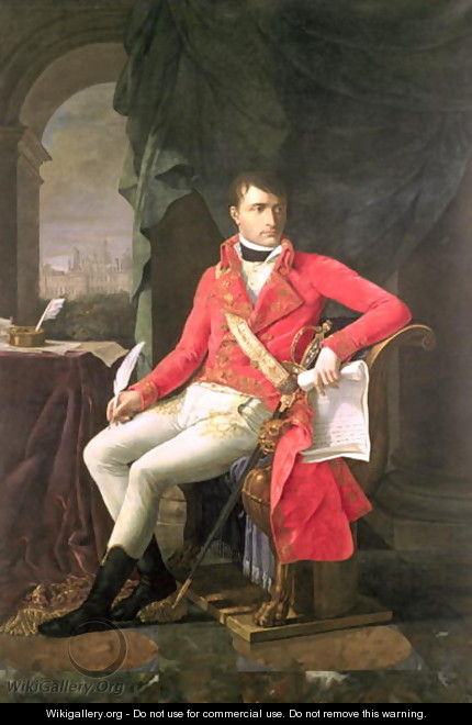 Napoleon 1769-1821 as First Consul - Antoine-Jean Gros