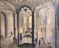 Interior view of Holywell Spa North Wales - Samuel Hieronymous Grimm
