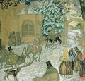 Illustraton for Dubrovsky - Boris Dmitrievich Grigoriev