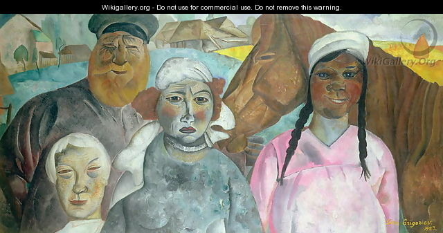 The Peasant Family 2 - Boris Dmitrievich Grigoriev