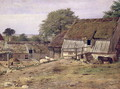 A Farmhouse in Sweden - Louis Gurlitt
