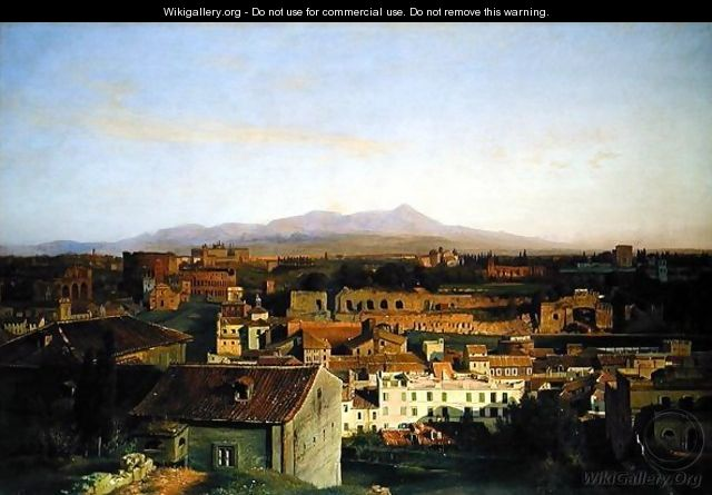 View from Rome - Louis Gurlitt
