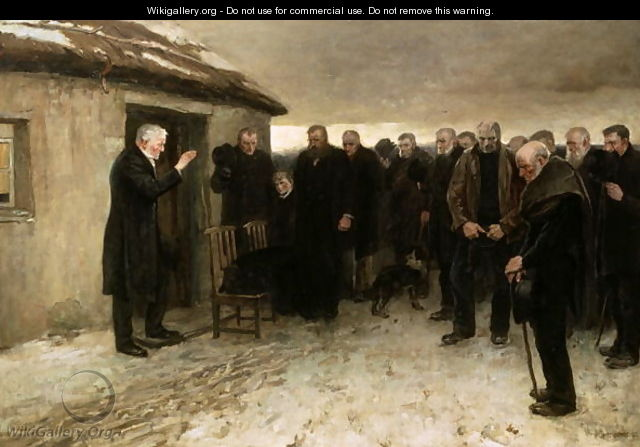 A Highland Funeral - Sir James Guthrie