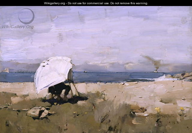 Hard At It - Sir James Guthrie