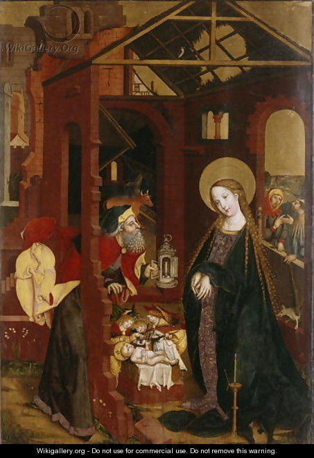 The Nativity - (attr. to) Gutrecht, Matthaus, the Elder