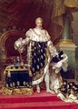 Portrait of Charles X 1757-1836 in Coronation Robes - Paulin Jean Baptiste Guerin