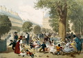 The Tuileries - Eugene Charles Francois Guerard