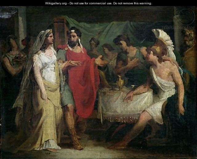 The Wedding of Alexander the Great 356-323 BC and Roxana - Baron Pierre-Narcisse Guerin