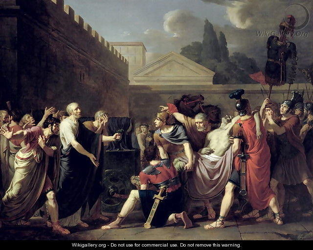 The Death of Brutus - Baron Pierre-Narcisse Guerin