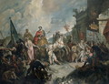 The Triumph of a Roman General - Giovanni Antonio Guardi