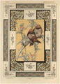 Birds plate 35 from Fantaisies decoratives - (after) Habert-Dys, Jules-Auguste