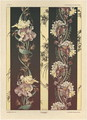 Flowers plate 21 from Fantaisies decoratives - (after) Habert-Dys, Jules-Auguste