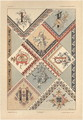 Letters plate 26 from Fantaisies decoratives - (after) Habert-Dys, Jules-Auguste