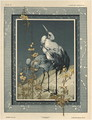 Storks plate 40 from Fantaisies decoratives - (after) Habert-Dys, Jules-Auguste