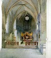 A Church Interior - Carl Haag