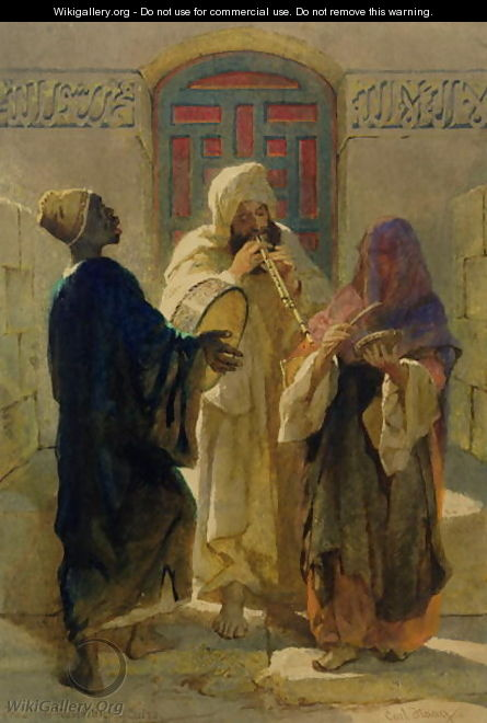 The Street Musicians of Cairo - Carl Haag