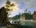 The Village Ferry - Pieter Gysels
