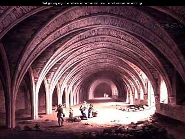 The Cloister at Fountains Abbey - James Halfpenny