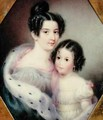 Mrs Charles Alexander Clinton Ann Hone and her Daughter - Ann Hall