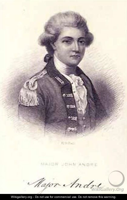 Major John Andre 1751-80 - Henry Bryan I Hall