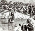 A Baptism of North American Indians Mormons Posing as Apostles of Christ - Sydney Prior Hall