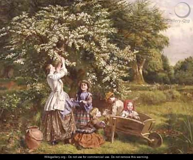 Collecting May Blossom - Thomas P. Hall