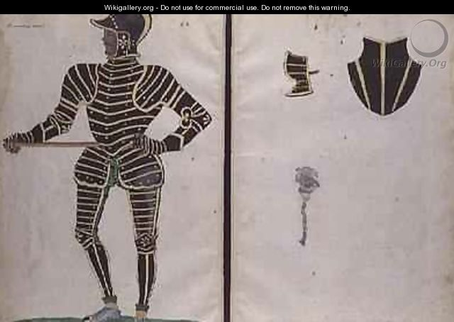 Suit of Armour for Sir William Sentlo - Jacobe Halder
