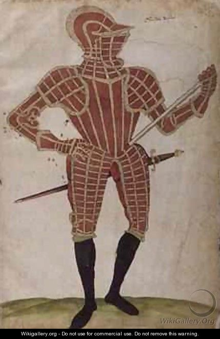 Suit of Armour for Sir Dale Dessna - Jacobe Halder