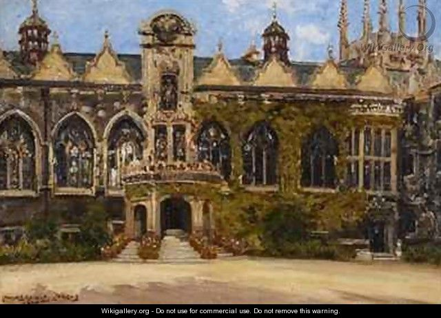 Oriel College - J. Edward Homerville Hague
