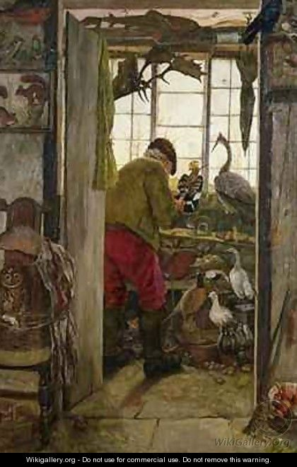 The Chadderton Taxidermist - John Houghton Hague