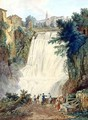 The Falls at Tivoli - Jakob Philippe Hackert