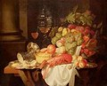 Still Life with Lobster - Johannes Hannot