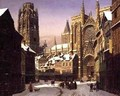 Dutch Cathedral Town - Heinrich Hansen