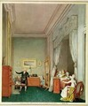 The Empresss Bedroom with the Duchesse de Montebello and Jean Nicolas Corvisart 1755-1821 - Marie-Louise de Hapsburg-Lorraine