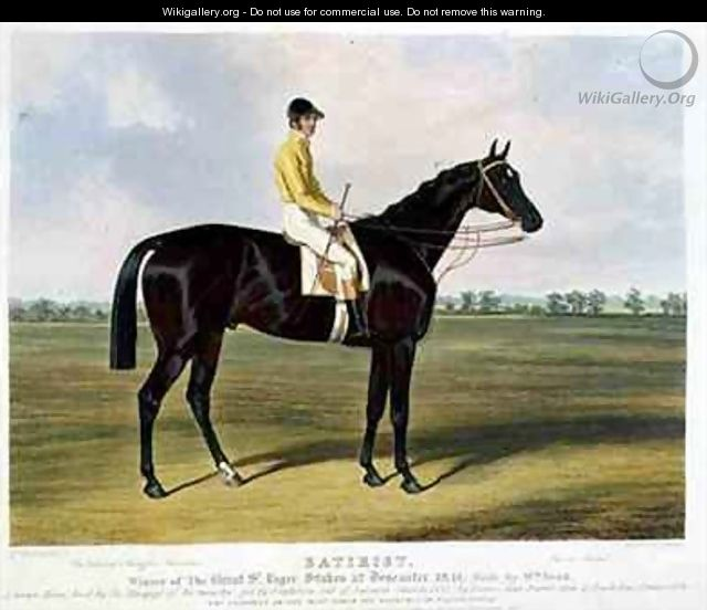 Satirist Winner of the Great St Leger Stakes at Doncaster - Charles Hancock