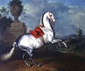 The Dapple Grey Galloping - Johann Georg Hamilton
