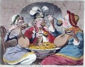 Monstrous Craws at a New Coalition Feast - James Gillray