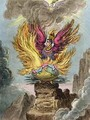 Apotheosis of the Corsican Phoenix - James Gillray