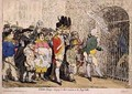 Election Troops bringing in their accounts to the Pay Table - James Gillray