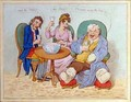 Punch Cures the Gout the Colic and the Tisic - James Gillray