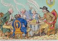 The Feast of Reason and the Flow of the Soul ie The Wits of the Age - James Gillray