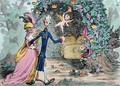 The Nuptial Bower with the Evil One peeping at the Charms of Eden - James Gillray