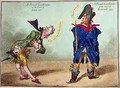 A French Gentleman of the Court of Louis XVI and a French Gentleman of the Court of Egalite - James Gillray
