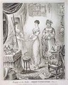Progress of the Toilet or Dress Completed - James Gillray